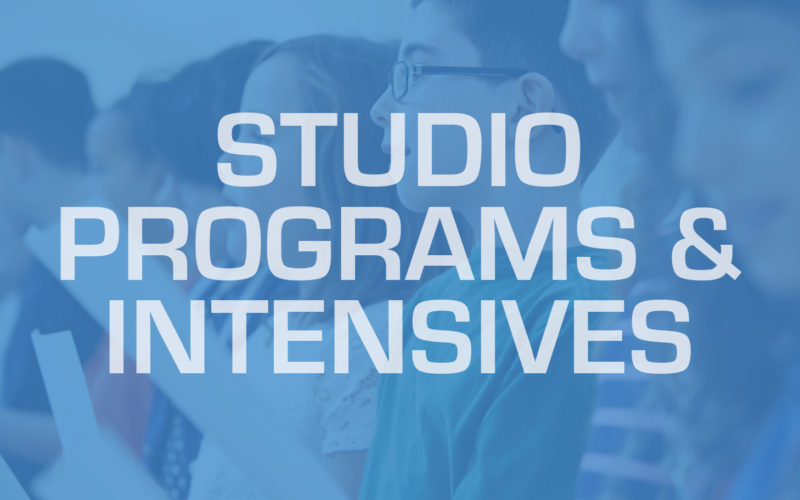 Studio Programs & Intensives