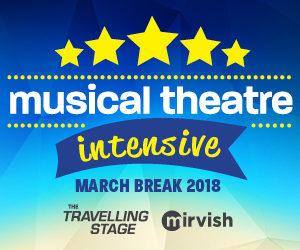 March Break 2018 Intensive block logo